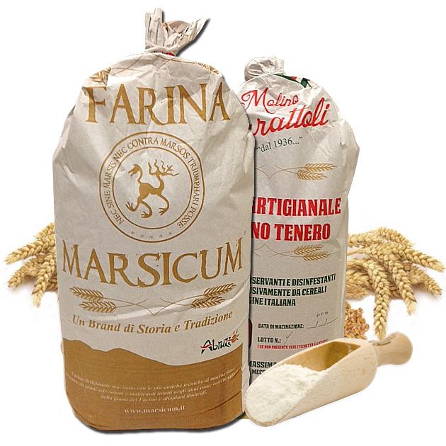 confezione farina di solina artigianale Marsicum